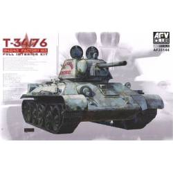 T-34/76 Mod 1942/43 Factory 183 (Full Interior)