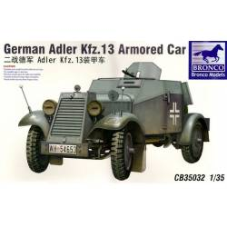 German Adler Kfz. 13 Armored Car