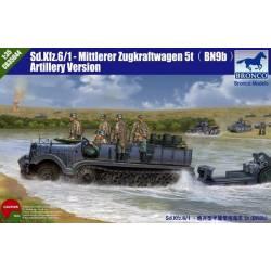 Sd Kfz 6 /1-Mittlerer Zugkraftwagen 5t (BN9b) Artillery Version