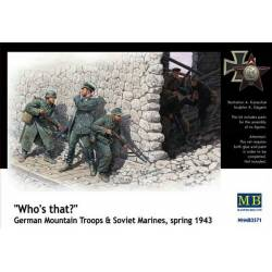 Who's that? German Mountain Troops & Soviet Marines spring 1943