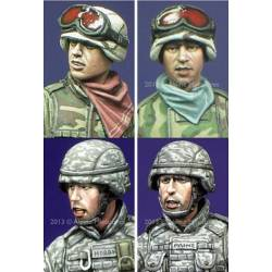 Modern US Infantry Heads