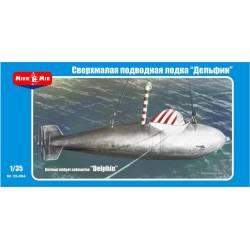 German midget submarine Delphin