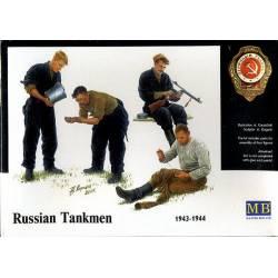 Russian Tankmen 1943-44