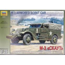 US Army M-3 Armored Scout Car w/canvas