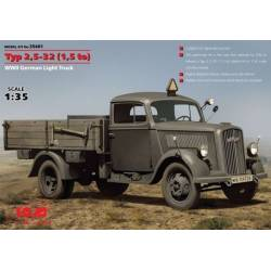 Typ 2,5-32 (1,5 to) WWII German Light Truck