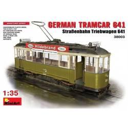 GERMAN TRAMCAR 641 (StraBenbahn Triebwagen 641)