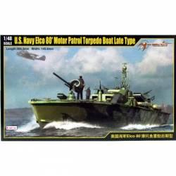US Navy Elco 80' Motor Patrol Torpedo Boat Late Type