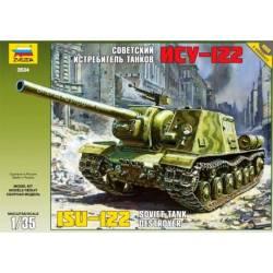 ISU-122 Soviet Tank Destroyer