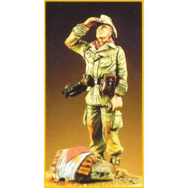Sergent du 2eme RE  Algérie 1960 54mm NEMROD N54C017 1