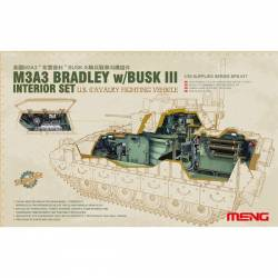 U.S. CAVALRY FIGHTING VEHICLE M3A3 BRADLEY w/Busk III INTERIOR SET