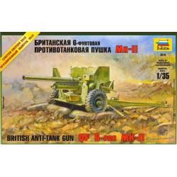 British Anti-Tank Gun QF 6-PDR MK-II