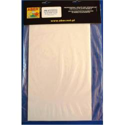 plaques blanches 195x315x0.50mm