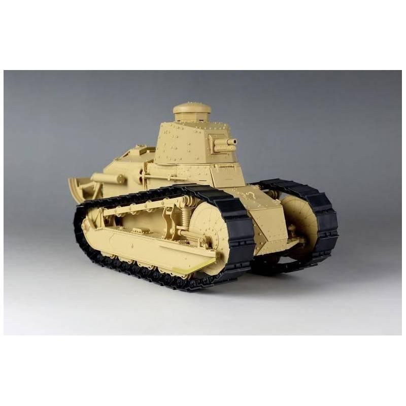 renault ft char canon berliet turret takom 1003 1 16 me maquette char promo. Black Bedroom Furniture Sets. Home Design Ideas