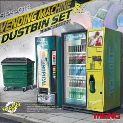 Vending Machine & Dustbin Set