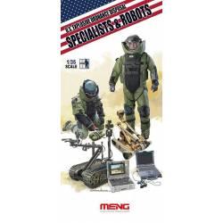 U.S. EXPLOSIVE ORDNANCE DISPOSAL SPECIALISTS & ROBOTS