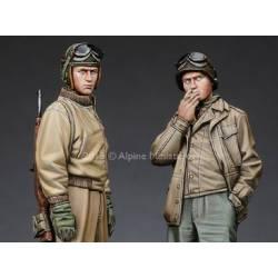 US Tank Crew set