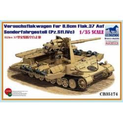 Versuchsflakwagen Fur 8.8cm Flak.37 Auf Sonderfahrgestell (Pz.SfI.IVc)