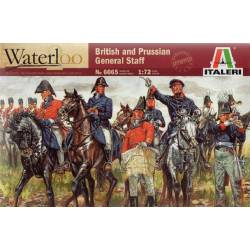 WATERLOO (200years) BRITISH & PRUSSIAN General Staff