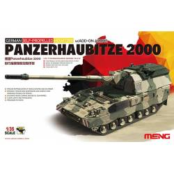 GERMAN SELF-PROPELLED HOWITZER PANZERHAUBITZE 2000 w/ADD-ON ARMOUR