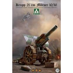WWI/ WWII GERMAN Krupp 21cm Mörser 10/16