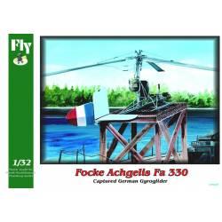 FOCKE ACHGELIS Fa 330 captured German Gyroglider