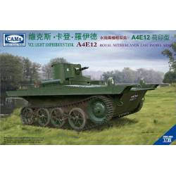 VCL Light Amphibious Tank A4E12 Knil Version - (Royal Netherlands East Indies Army)
