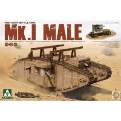 WWI Heavy Battle Tank Mk.I Male