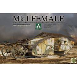 WWI Heavy Battle Tank Mk.I Female