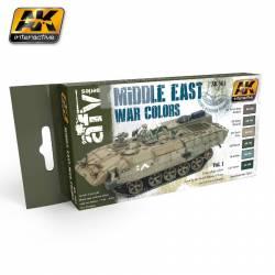 Middle East War Colors Vol.1