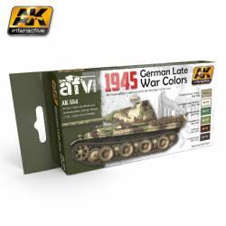 1945 German Late War Colors Set