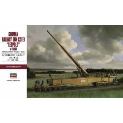 German Railway Gun K5(E) Leopold w/Figure
