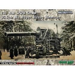WWII German 35.5cm M1 Super Heavy Howitzer