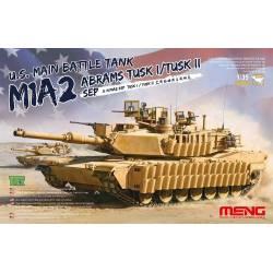 U.S MAIN BATTLE TANK M1A2 ABRAMS TUSK I/TUSK II SEP