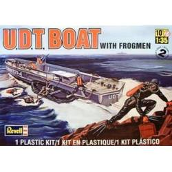 U.D.T. Boat with Frogmen