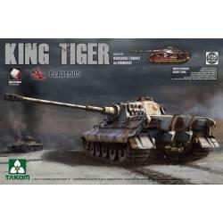 KING TIGER Pz.ABT.505 Sd.Kfz.182 HENSCHEL TURRET w/ZIMMERIT