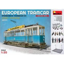 EUROPEAN TRAMCAR (StraBenbahn Triebwagen 641) w/CREW & PASSENGERS