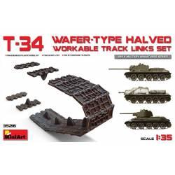 T-34 WAFER-TYPE HALVED WORKABLE TRACK LINKS SET
