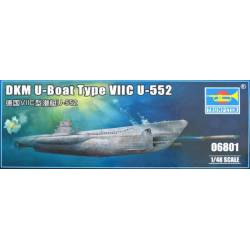 German WWII U-Boat Type VIIC U-552