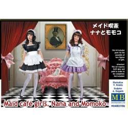 Maid Café Girls, Nana and Momoko