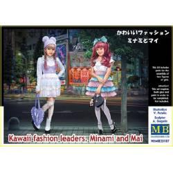 Kawaii fashion leaders. Minami and Mai