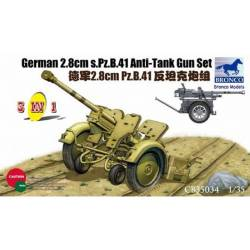 German 2.8cm sPZB.41 Anti-Tank Gun Set