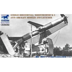 German Rheinmetall Rheintochter R2 Missiles with Launcher