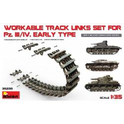 WORKABLE TRACK LINKS SET FOR Pz.III / Pz.IV Early type