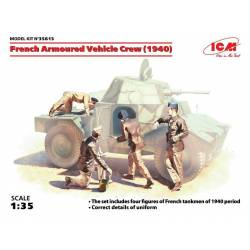 French Armoured Vehicle Crew (1940)