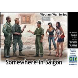 Somewhere in Saigon Vietnam War Series