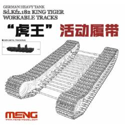 "German Heavy Tank Sd.Kfz.182 ""King Tiger"" Workable Tracks"