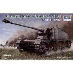 """GERMAN 12.8cm SELBSTFAHRLAFETTE L/61 """"STURER EMIL"""""""