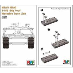 M1A1/M1A2 T-158 Big Foot Workable Track Link