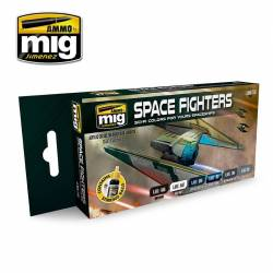 SPACE FIGHTERS SCI-FI COLORS