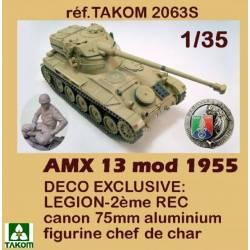 AMX-13/75 CAMPAGNE DE SUEZ 1956 - EDITION SPECIALE (3 en 1 +AMX-13/90+AMX-13 CHAFFEE)
